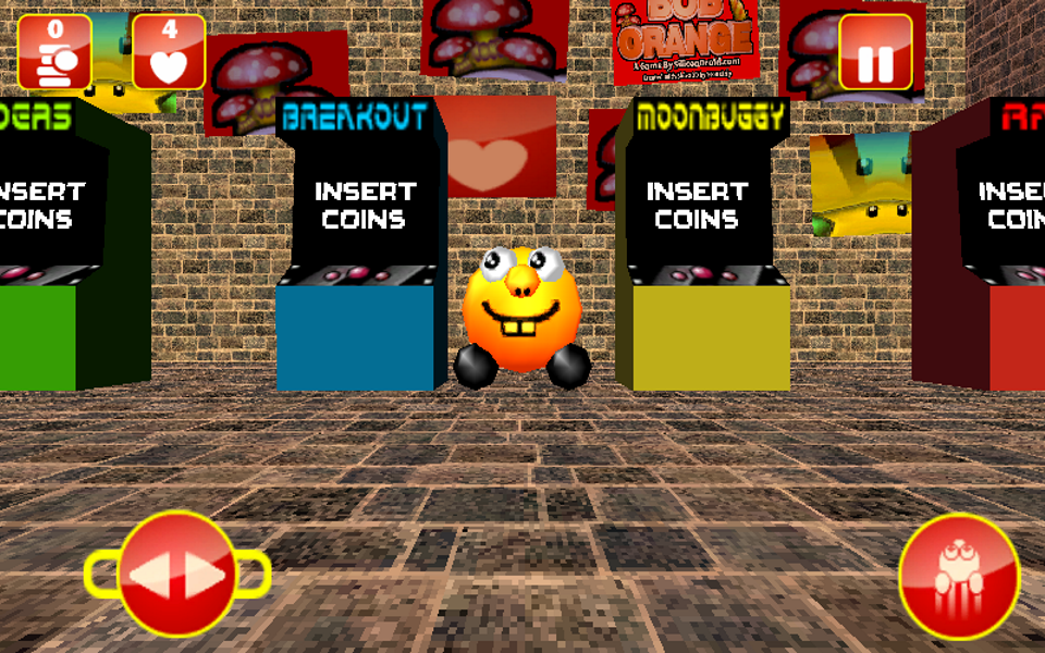 Screenshot Bob Orange – 3D Platform Game